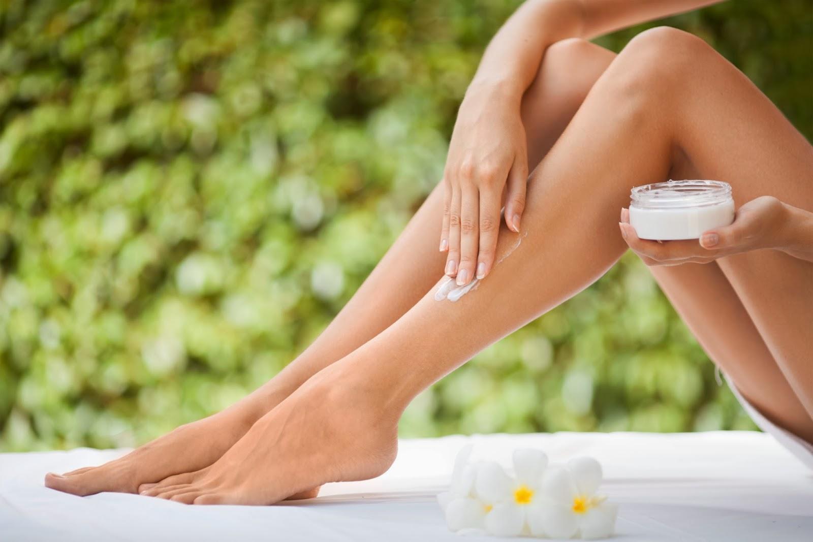 Увлажнение кожи ног в домашних условиях